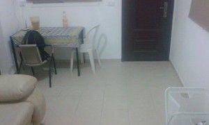 להשכרה דירת שני חדרים+מרפסת באריאל